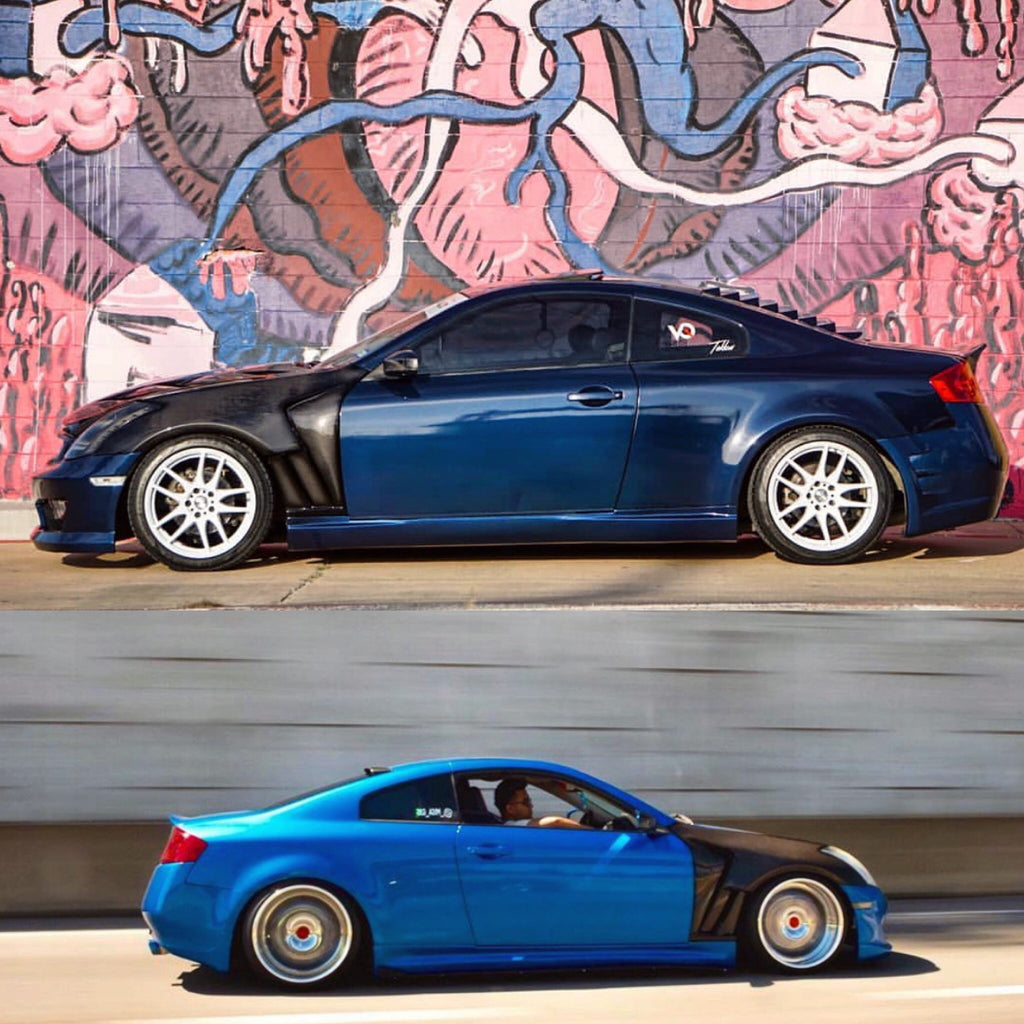 G35 RS4 Vented Fenders