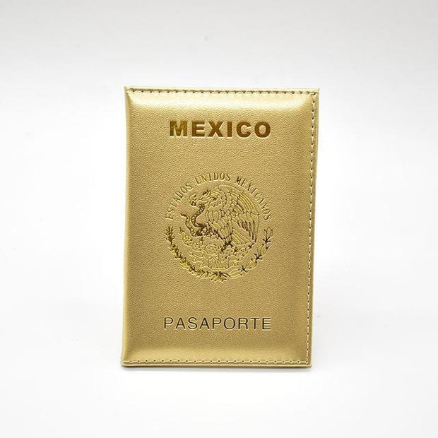 Mexico Travel Passport Cover - Backpacker street