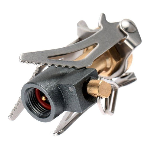 Outdoor Portable Folding Mini Camping Gas Stove - Backpacker street