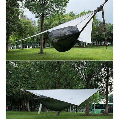 Ultralight Hammock Tent With Rain And Mosquito Net - Backpacker street