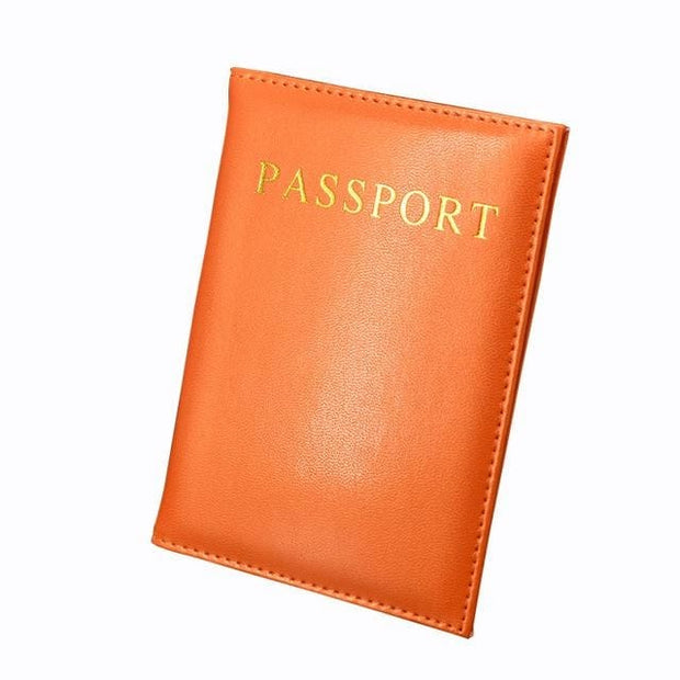 Universal Passport Leather Cover - Backpacker street