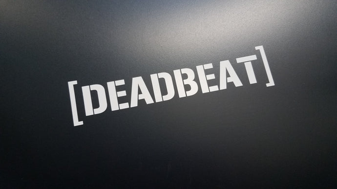 Hoon Style DEADBEAT Sticker