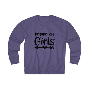Mom of Girls - Unisex French Terry Crew