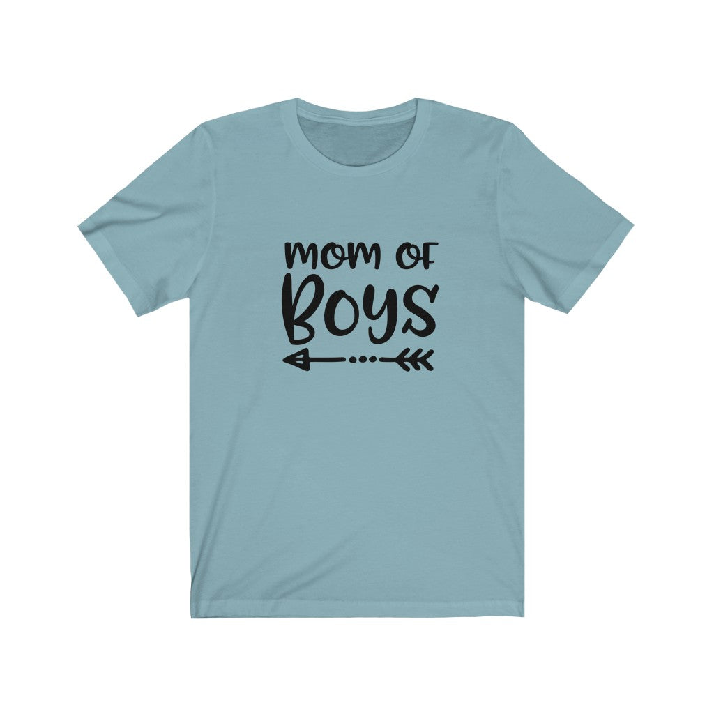 Mom of Boys -Unisex Jersey Tee