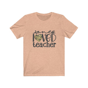 One Loved Teacher Leopard