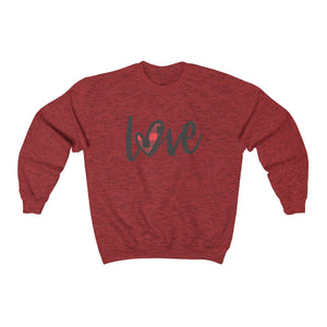 Plaid Heart Crewneck