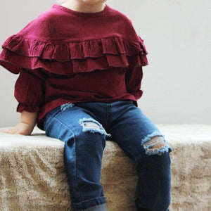 Kids Denim Ripped Jeans - Rosey Cheeks Children's Boutique