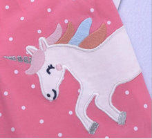 Girls Pink Unicorn Set