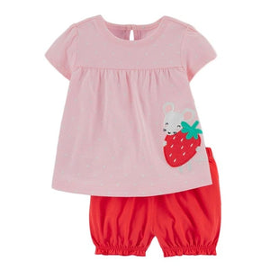 Girls Strawberry Set