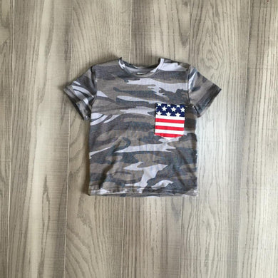Boys Army Shirt