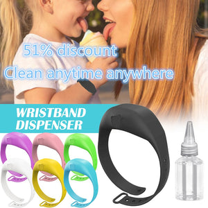Wristband Hand Dispenser Hand Sanitizer