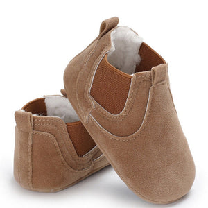 Leather Soft Sole Crib Shoes