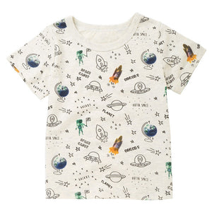 Boys Rocket T-shirt - Rosey Cheeks Children's Boutique