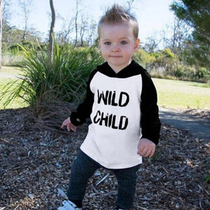 Wild Child Hoodie - Rosey Cheeks Children's Boutique