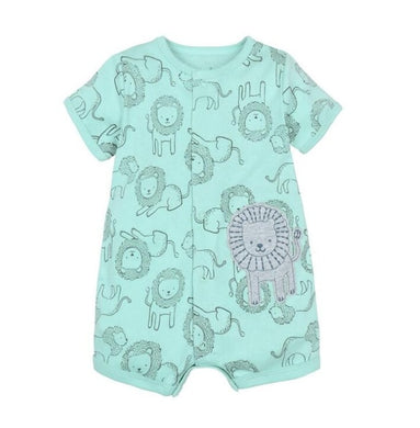 Boys Lion Romper - Rosey Cheeks Children's Boutique