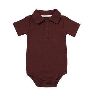 Polo Onesie - Rosey Cheeks Children's Boutique