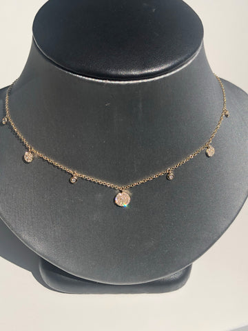 Multi Disc Necklace - Vassari Luxury Collection