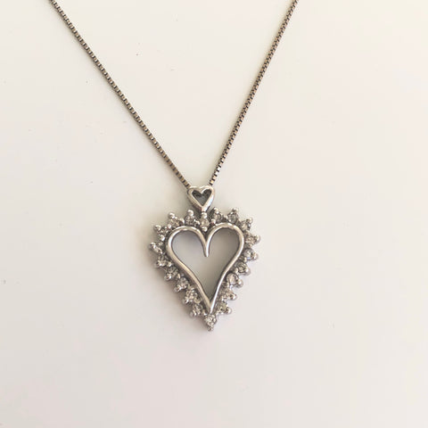 Classic Heart Pendant - Vassari Luxury Collection