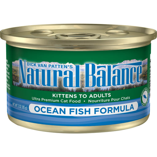 Natural Balance Ocean Fish Canned Cat Food