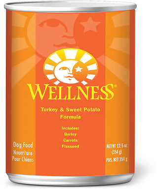 Wellness Complete Health Natural Turkey and Sweet Potato Recipe Wet Canned Dog Food