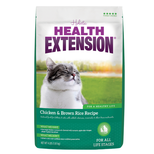 Health Extension Chicken & Brown Rice All Life Stages Dry Cat Food