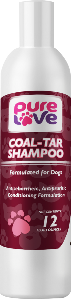 Pure Love Coal-Tar Shampoo for Dogs and Cats