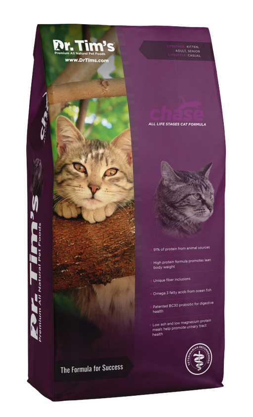 Dr. Tim's Chase All Life Stages Dry Cat Food