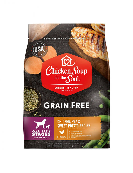Chicken Soup For The Soul Grain Free Chicken, Turkey and Pea Dry Dog Food