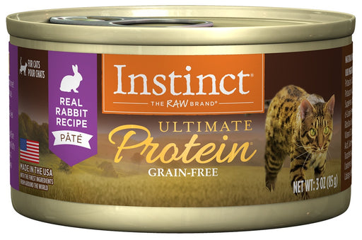 Nature's Variety Instinct Ultimate Protein Grain Free Rabbit Natural Canned Cat Food