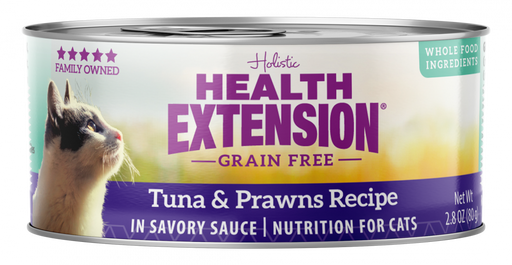 Health Extension Grain-Free Tuna and Prawns Recipe Canned Cat Food