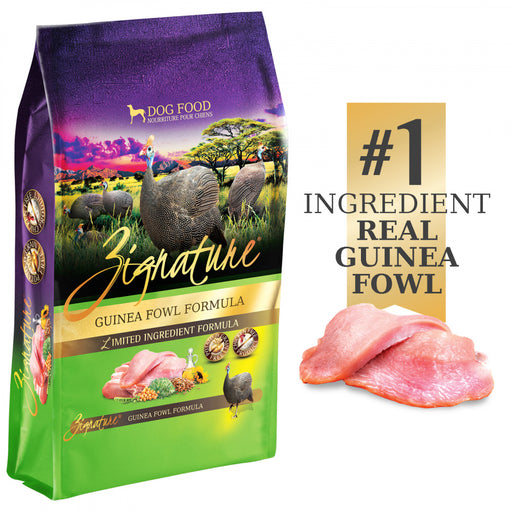 Zignature Limited Ingredient Diet Grain Free Guinea Fowl Recipe Dry Dog Food