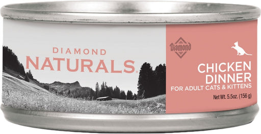 Diamond Naturals Chicken Dinner Adult & Kitten Formula Canned Cat Food