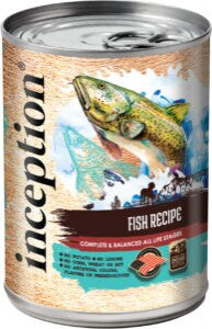Inception Fish Recipe Canned Dog Food
