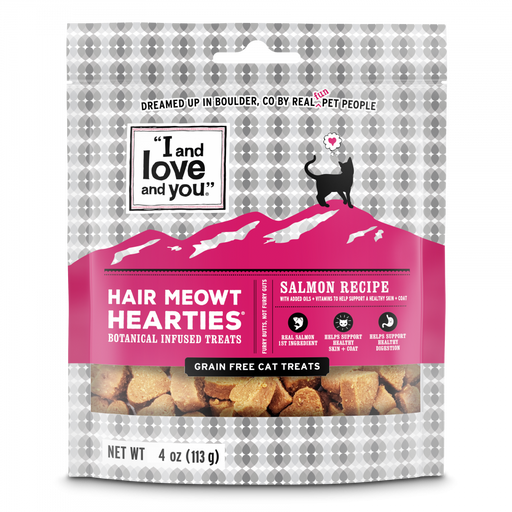 I and Love and You Hair Meow't Hearties Grain Free Cat Treats