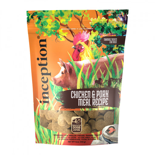 Inception Chicken & Pork Recipe Dog Training Biscuits