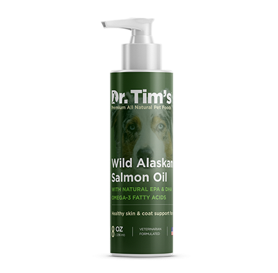 Dr. Tim's Alaskan Salmon Oil Healthy Skin & Coat Support for Dogs