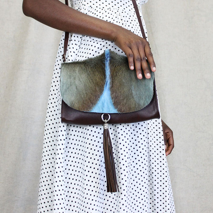 The Mavorneen Clutch In Powder Blue
