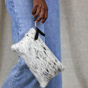 The Pouch In Salt Pepper Nguni