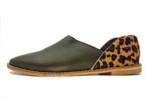 Ausi Slip On In Olive / Jaguar - Matsidiso International