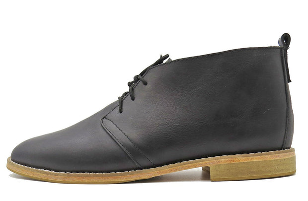 Mens Jola Chukka Boot In Black - Matsidiso International