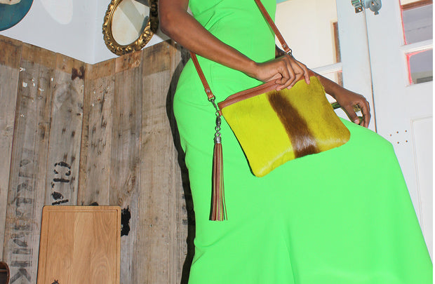 The Day Sling In Springbok / Lime
