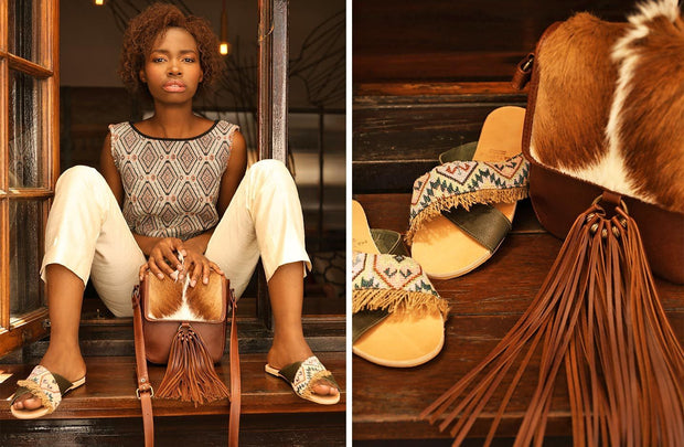 The Etta In Natural Springbok - Matsidiso International