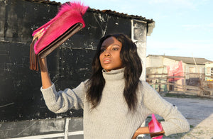 The Queen of Wakanda Clutch Large - Matsidiso International
