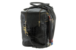 The Solivagant Duffle in Black - Matsidiso International