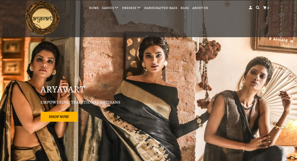 SAREES WEBSITES ON SHOPIFY.
