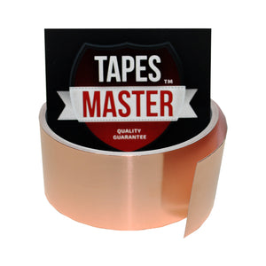"1.5"" X 10ft - 1 Mil Copper Foil EMI Shielding Conductive Adhesive Tape, 10 ft Copper Foil Tapes- Tapes Master"