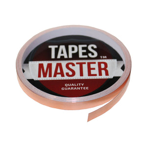 "1/4"" X 10ft - 1 Mil Copper Foil EMI Shielding Conductive Adhesive Tape, 10 ft Copper Foil Tapes- Tapes Master"