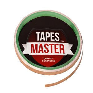 "1/8"" X 10ft - 1 Mil Copper Foil EMI Shielding Conductive Adhesive Tape, 10 ft Copper Foil Tapes- Tapes Master"