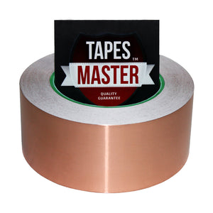 "2"" X 36 yards - 1 Mil Copper Foil EMI Shielding Conductive Adhesive Tape, 36 Yards Copper Foil Tapes- Tapes Master"