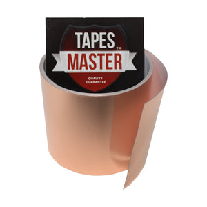 "3"" X 10ft - 1 Mil Copper Foil EMI Shielding Conductive Adhesive Tape, 10 ft Copper Foil Tapes- Tapes Master"